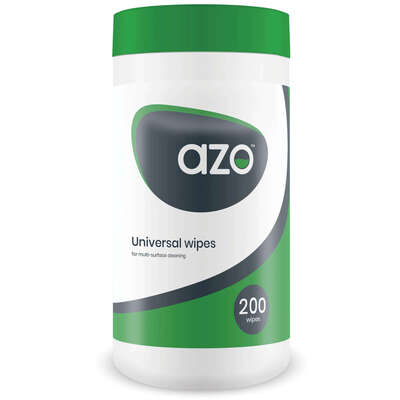 Azo Universal Alcohol Free Disinfectant Wipes 20x18cm 200