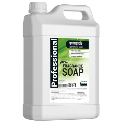 Soclean Liquid Soap Apple Fragrance 5 Litre 2 Pack