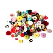 Gompels Assorted Colour Buttons 500g