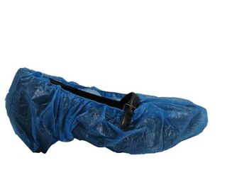 Overshoes 16inch Disposable Blue 100