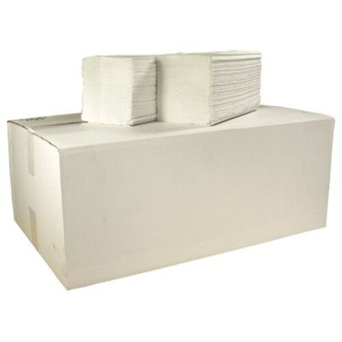 Z Fold Recycled Paper Hand Towel White 1ply 6000