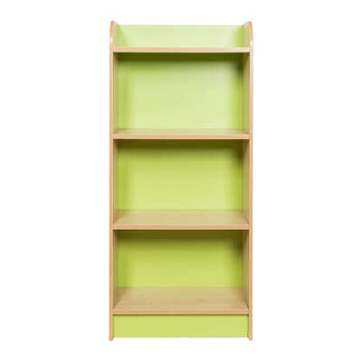 Kubbyclass Slimline Bookcase Beech - Height: 1250mm