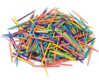 Gompels Assorted Colour Matchsticks 1000