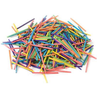 Gompels Assorted Colour Matchsticks 1000
