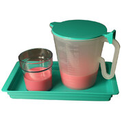 Locker Set of Beaker, Tray, Jug and Lid