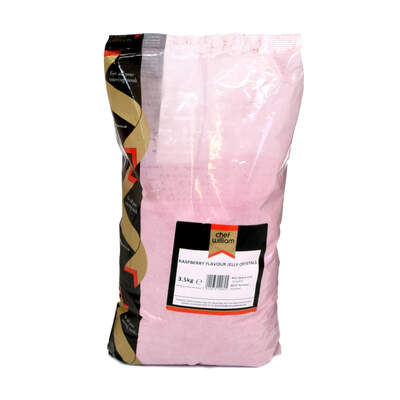 Jelly Crystals Raspberry 3.5kg