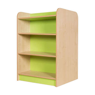 Kubbyclass Double Sided Bookcase Beech - Height: 1250mm