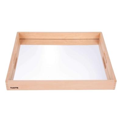 Wooden Mirror Tray