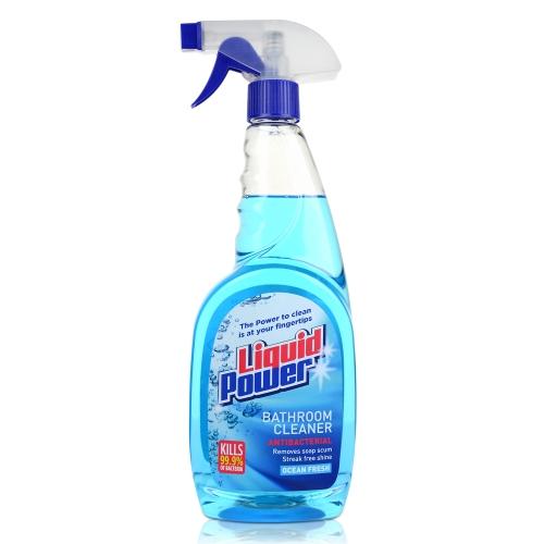Liquid Power Bathroom Cleaner Ml X Gompels HealthCare - Bathroom cleaner liquid