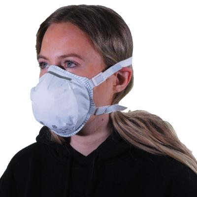 FFP3 Face Mask Unvalved Adjustable Straps 5 Pack
