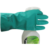 Heavy Duty Nitrile Gloves Large Pair