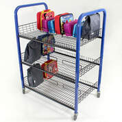 Double Sided Lunch Box Trolley