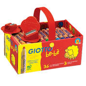 Giotto Be-Be Chunky Colouring Pencils 36 Pack