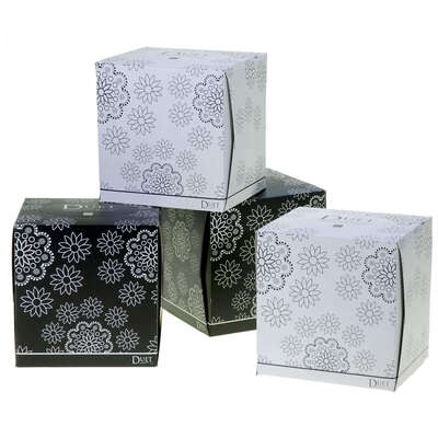 Cube Luxury Soft Tissues 70x2ply x 36 Boxes