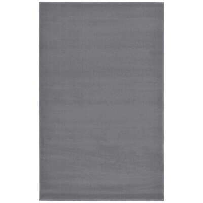 Plain Rug 120x170cm - Colour: Grey