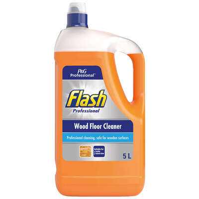 Flash Wood Floor Cleaner 5 Litre 2 Pack