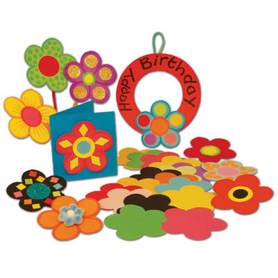 Paper Flowers 500 Pack