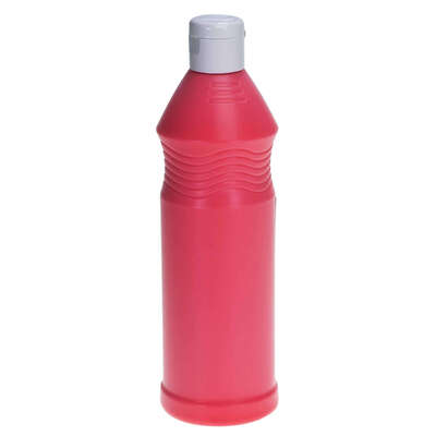 Ready Mixed Fluorescent Poster Paint 600ml - Colour: Red