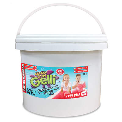 Messy Play Gelli 1.5kg - Colour: Red