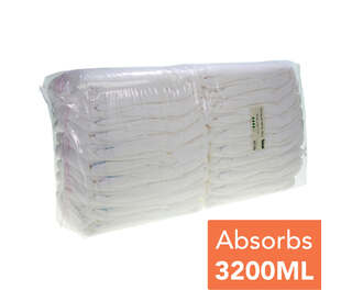 Gompels All-in-One Adult Diaper Extra Large Plus 20