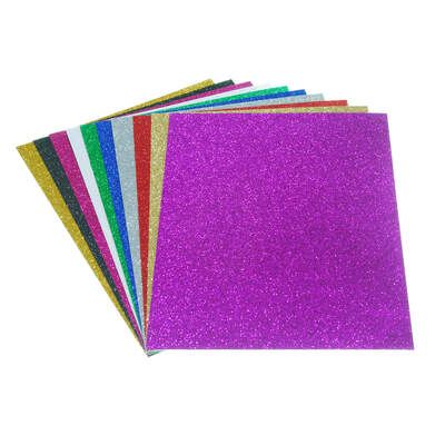 Artyom Assorted Glitter Paper A4 20 Pack