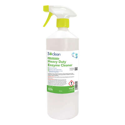 Soclean Heavy Duty Enzyme Cleaner 1 Litre