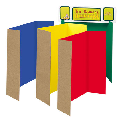 Presentation Boards Assorted Colours