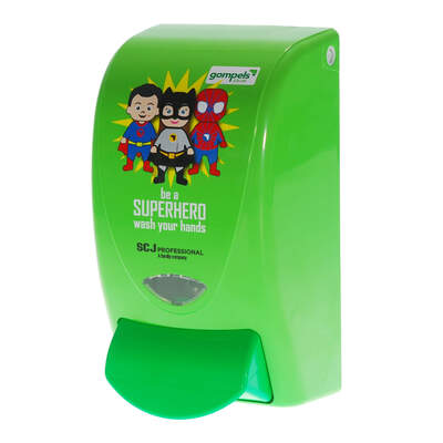 Gompels Superhero Dispenser 1l