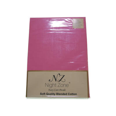 Quilt Cover Set Single Bed - Colour: Pink