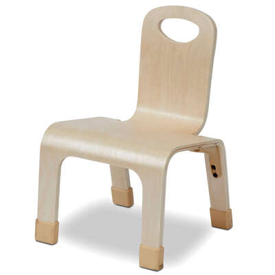 One Piece Bent Chair 4 Pack - Height: 210mm