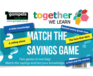 Match The Sayings Game