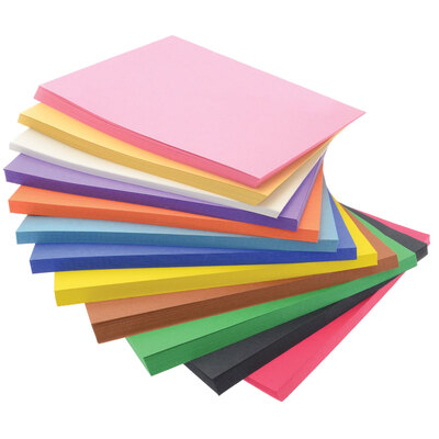Bumper Value Construction Paper Block