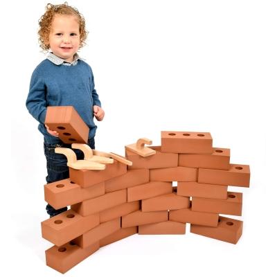 Giant Foam Bricks 25 Pack