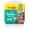 Pampers Baby Dry Jumbo Size 5 Junior 72 Pk
