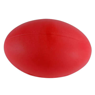Foam Rugby Ball Red