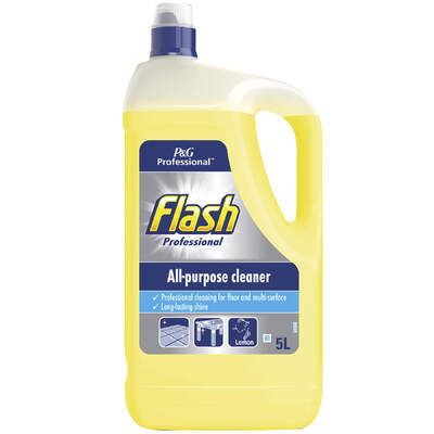 Flash All Purpose Cleaner Lemon 5 Litre 2 Pack