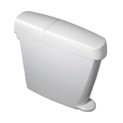 Sanitary Bin 20l White