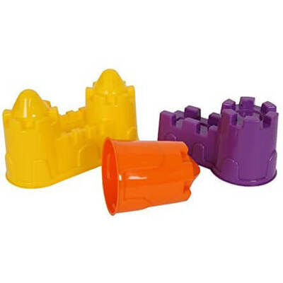 Sand Castles Assorted 3 Pack