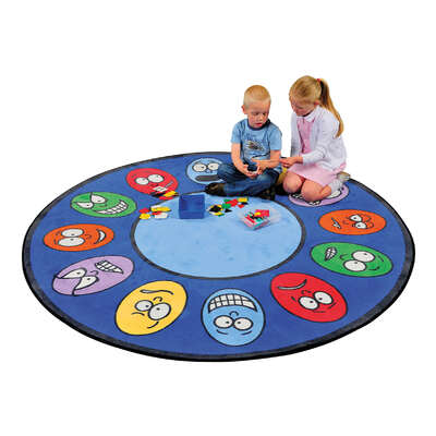 Expressions Learning Rug Round 2m