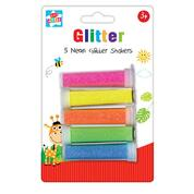 Glitter Shakers Neon Assorted 5 Pack