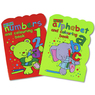 Abc / 123 Colouring Book Assorted 12 Pack