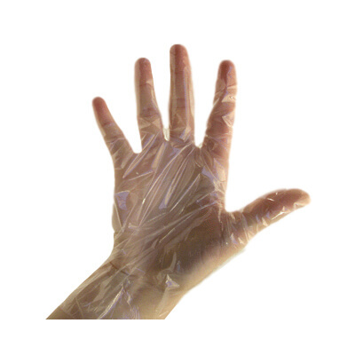 Gompels Polythene Gloves 100