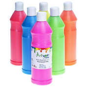 Ready Mixed Fluorescent Poster Paint 600ml