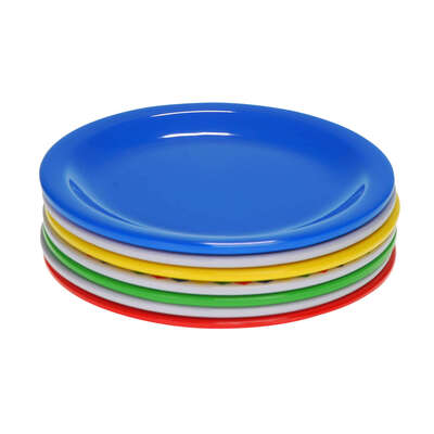 "Swixz Melamine Side Plate 6.25"" / 160mm 12 Pack"