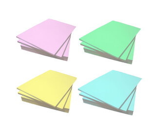 A4 Coloured Paper 80gsm 500 Sheets