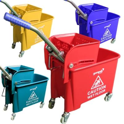 Gompels Mop Bucket With Wringer 20l