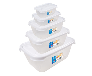 Rectangular Food Storage Box With Lid