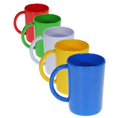 Gompels Melamine Handled Mug 10oz 6 Pack