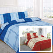 Quilt Cover Set Single Bed Patterned