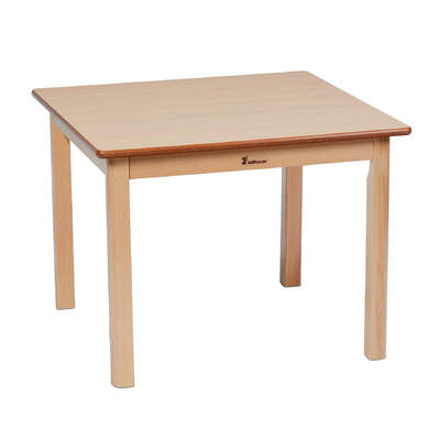 Wooden Table Square 695 x 695mm